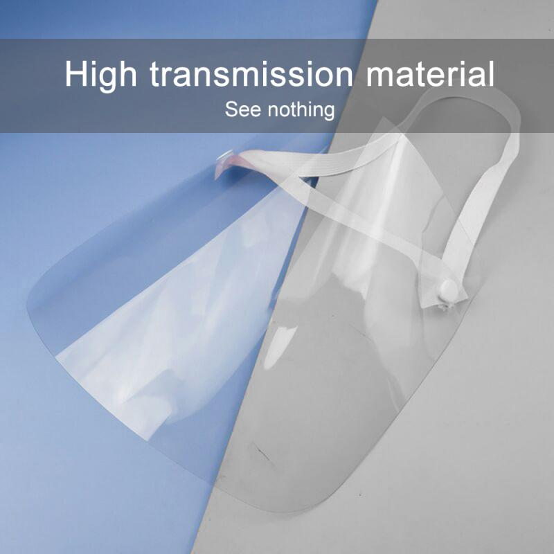 NEW transparent Masks baffle block Anti Droplet Dust-proof Protect Full Face Covering Mask Visor Shield title=