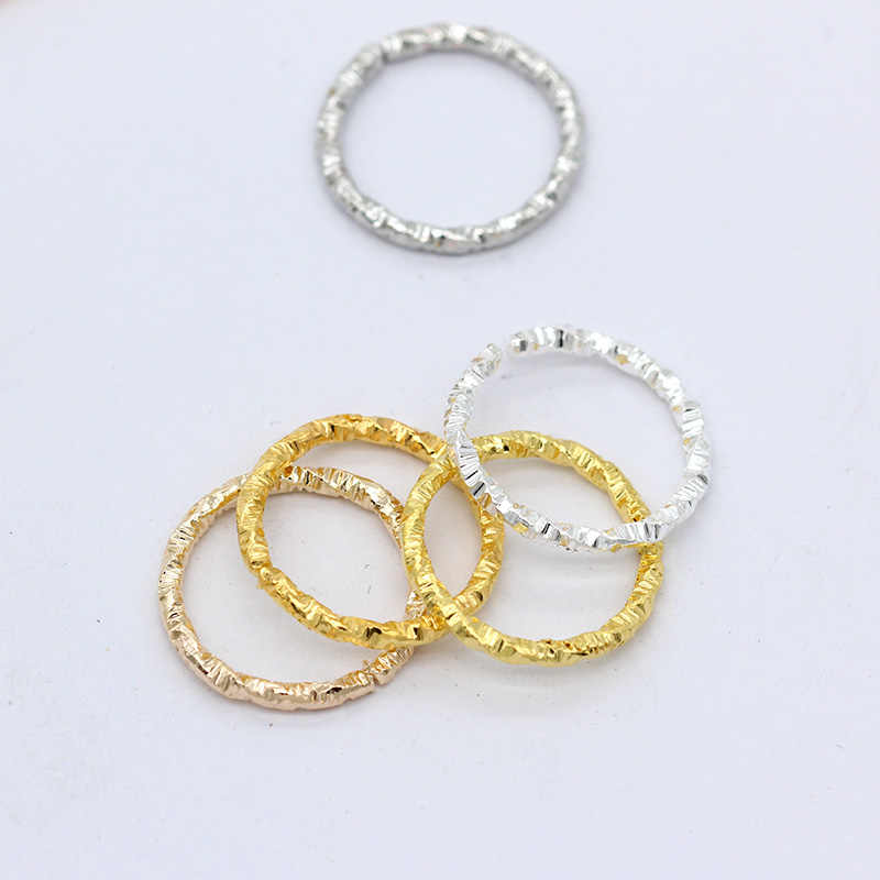 20 Silver Plated 20mm Open Jump Rings Jewellery Making Findings