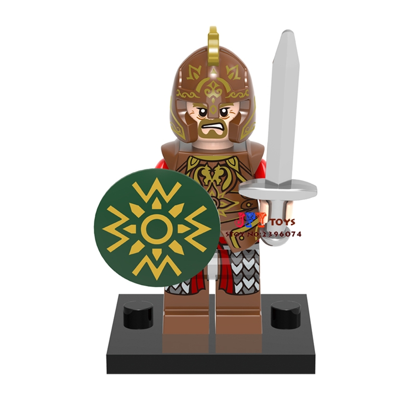 Single The Lord Of The Rings Theoden Building Blocks Collection Model Bricks Toy For Children Action Figures