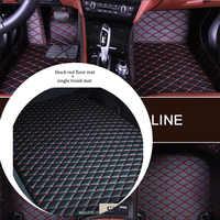 Custom Car boden matte und kofferraum matte set für SUBARU Forester Outback Legacy XV Wrx sti WRX Impreza BRZ Tribeca auto Accesstories