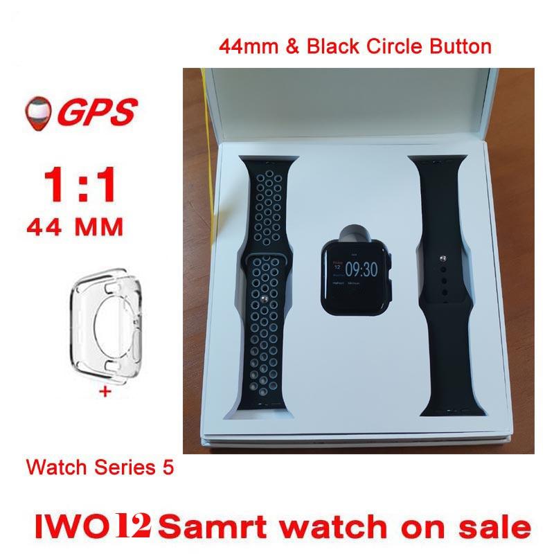 Smart Whatch IWO 12 13  IWO12 Bluetooth 44MM 40MM Smart Watch 1:1 Heart Rate Blood Pressure Camera Music GPS IW012 IWO 11