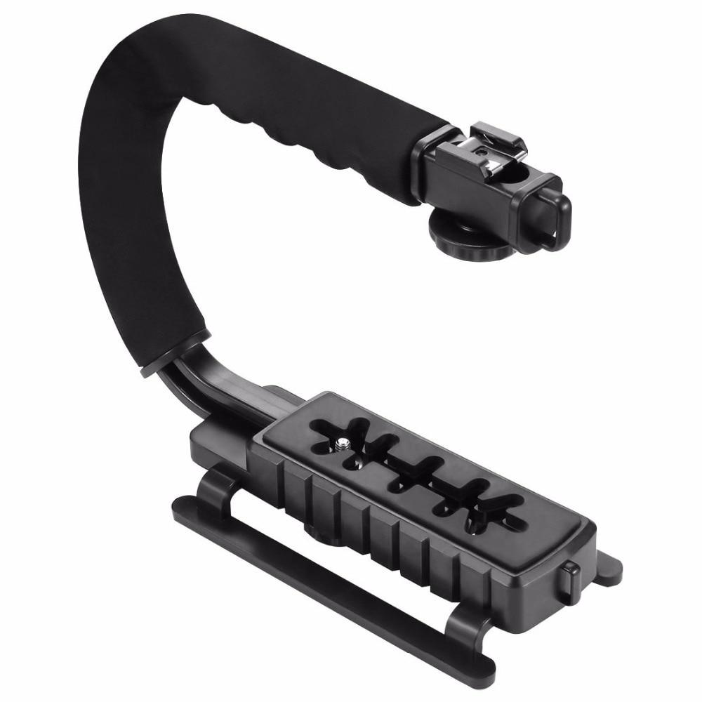Camera Gimbal Steadicam Stabilizer For Camera Stabilizer Cellphone For DSLR Nikon Canon Sony Camera Portable SLR And Light