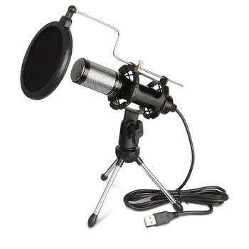 USB Bluetooth mikrofon kondensujący komputer gra na żywo Laptop PC Studio nagrywanie Brocasting Omnidirection Mini mikrofony tanie i dobre opinie Blat Mikrofon pojemnościowy Mikrofon komputerowy Wielu Mikrofon Zestawy CN (pochodzenie) Dookólna Małe Przewodowy USB-10