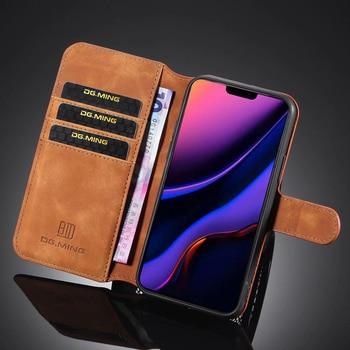 Premium Leather Flip Wallet Case for iPhone 11/11 Pro/11 Pro Max 3