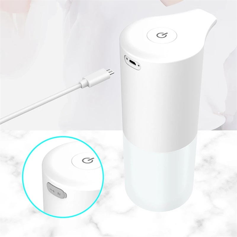 USB Automatic Charging Infrared Induction Sensor Soap Dispenser Hand Washer Touchless Hand Sanitizer For Kitchen Bathroom Tool