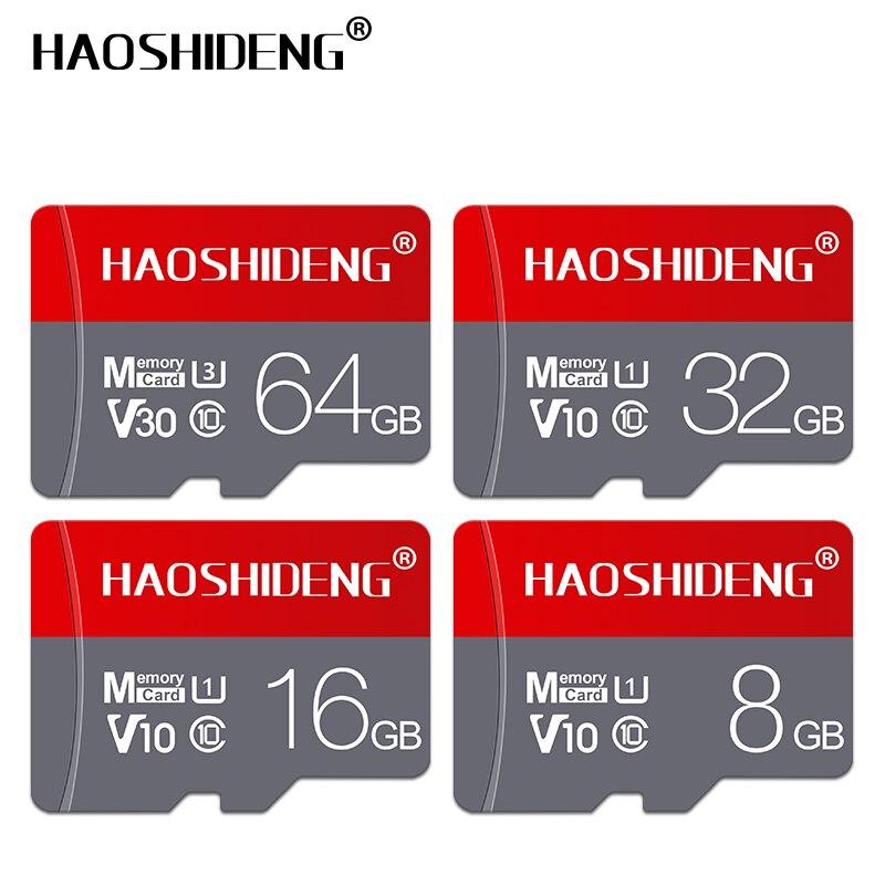 Image 2 - Class 10 memory card 8GB 16GB 32GB micro sd card 64GB 128GB tarjeta microsd 32gb mini TF card 4GB flash drive with Free adapter-in Micro SD Cards from Computer & Office
