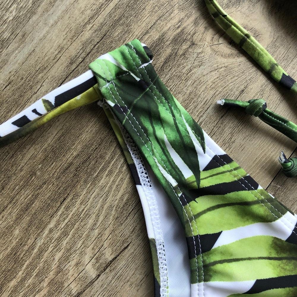 Brazilian Push Up Bandage Bikini Swimsuit 17