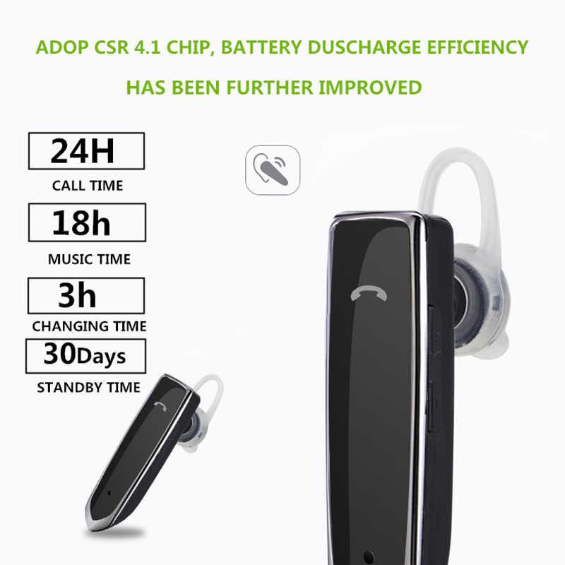 ANRY Bluetooth bezprzewodowy biznes słuchawki douszne słuchawki głośnomówiący z mikrofonem dla biuro/biznes/trening/kierowca/ trucker