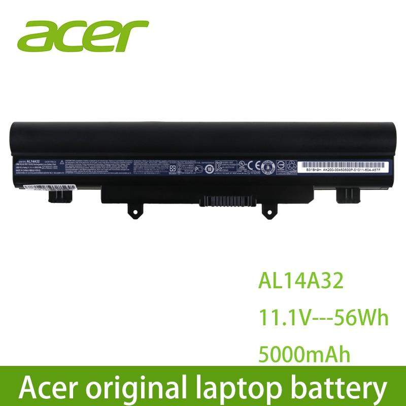 AL14A32 Acer Original bateria do portátil Para Acer Aspire E14 E15 E5 E5-531 E5-551 E5-421 E5-471 E5-571 E5-572 V3-472 V3-572
