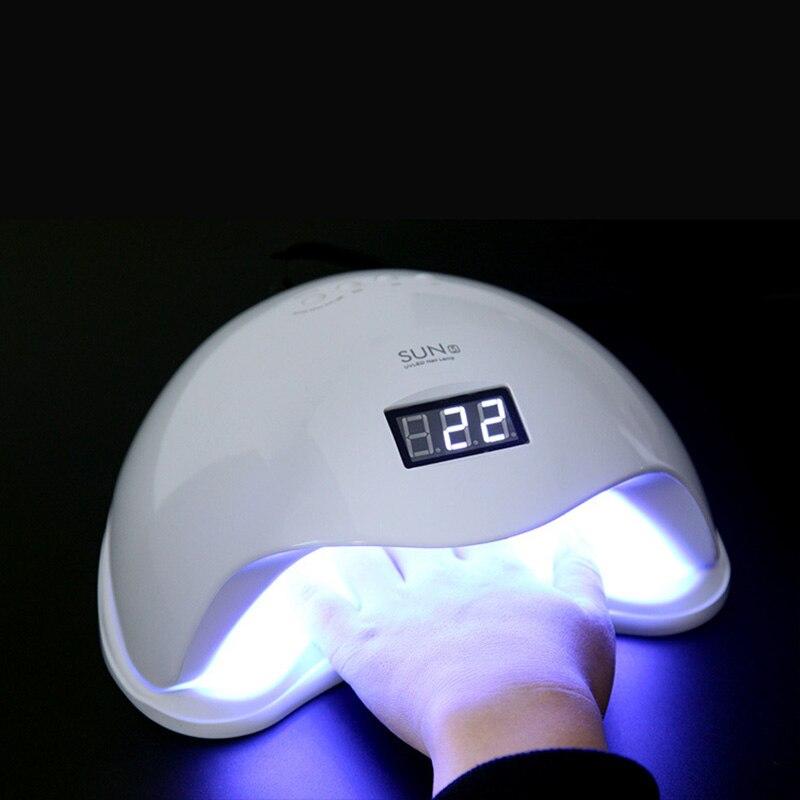 SUN 5 УФ лампа для ногтей 48 Вт/36 Вт Профессиональный лак для ногтей сушилка для маникюра светодиодный светильник для дизайна ногтей