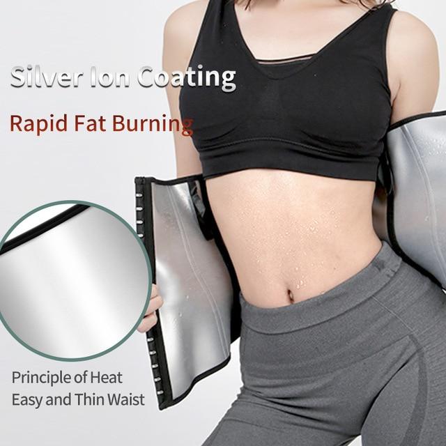 TMT Waist Trainer Gym Sweat Belt Women Waist Trimmer Corset Tactical Slimming Fitness Sport Shaper Body Losing Weight Back Belt 2