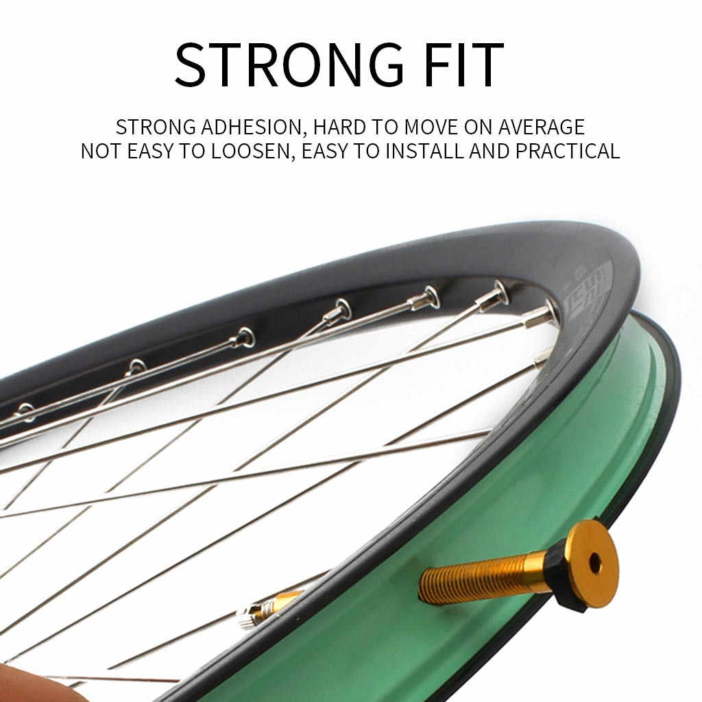 Road Bicycle Parts Wheel Carbon Wheelset Tubeless Rim Tape Bikes Tire Pad