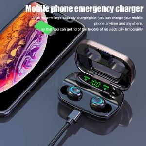Image 4 - Tws 무선 블루투스 이어폰 헤드폰 방수 스포츠 게임 헤드셋 아이폰을위한 마이크와 소음 이어폰 샤오미 + 충전 박스
