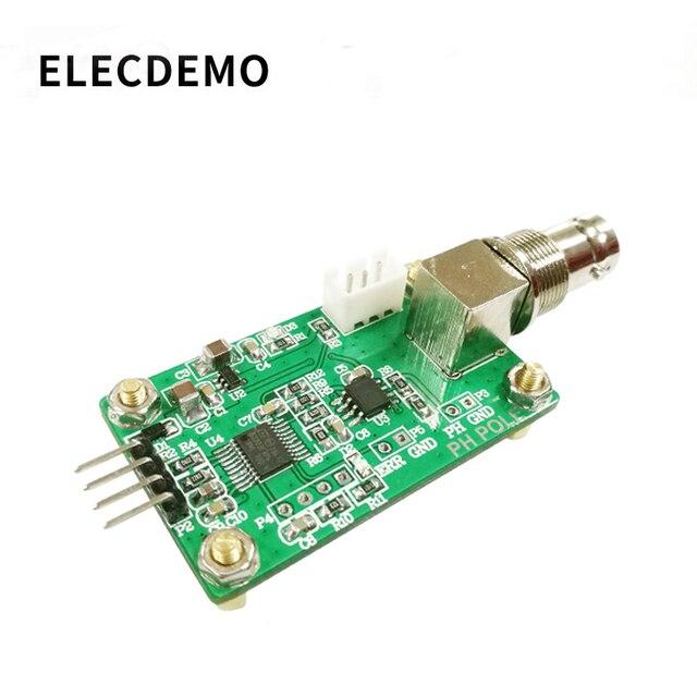 Valore di Ph Modulo di Acquisizione Del Sensore di Rilevamento Del Sensore di Ph Qualità Dellacqua di Controllo di Rilevamento di Uscita Seriale