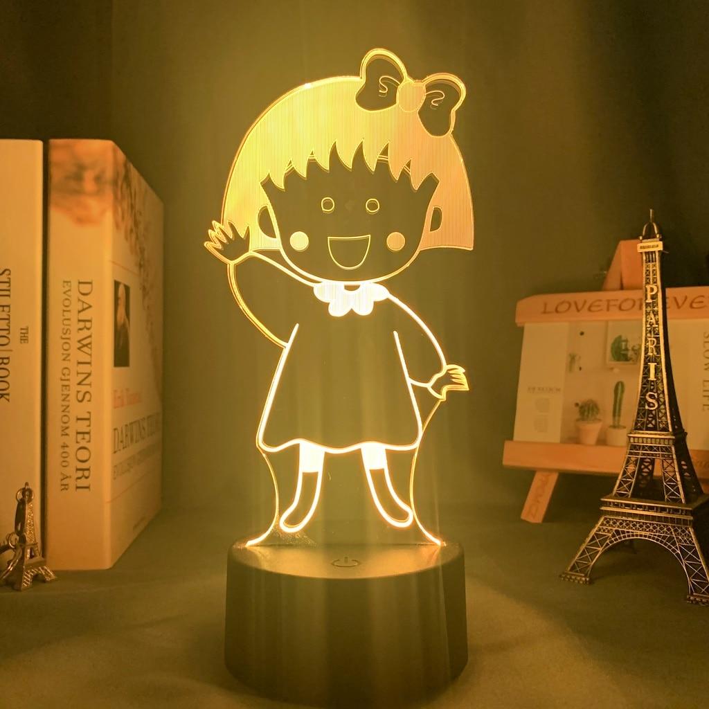Personalized Female Teacher  Girl  Gift  Cartoon Decorative 3d Trinket Led Illuminated Night Light