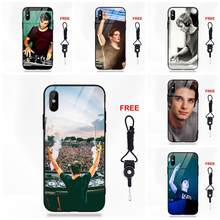 Vvcqod Dj Martin Garrix For Apple iPhone 5 5C 5S SE 6 6S 7 8 Plus X XS Max XR Soft TPU Frame Tempered Glass Popular Case(China)