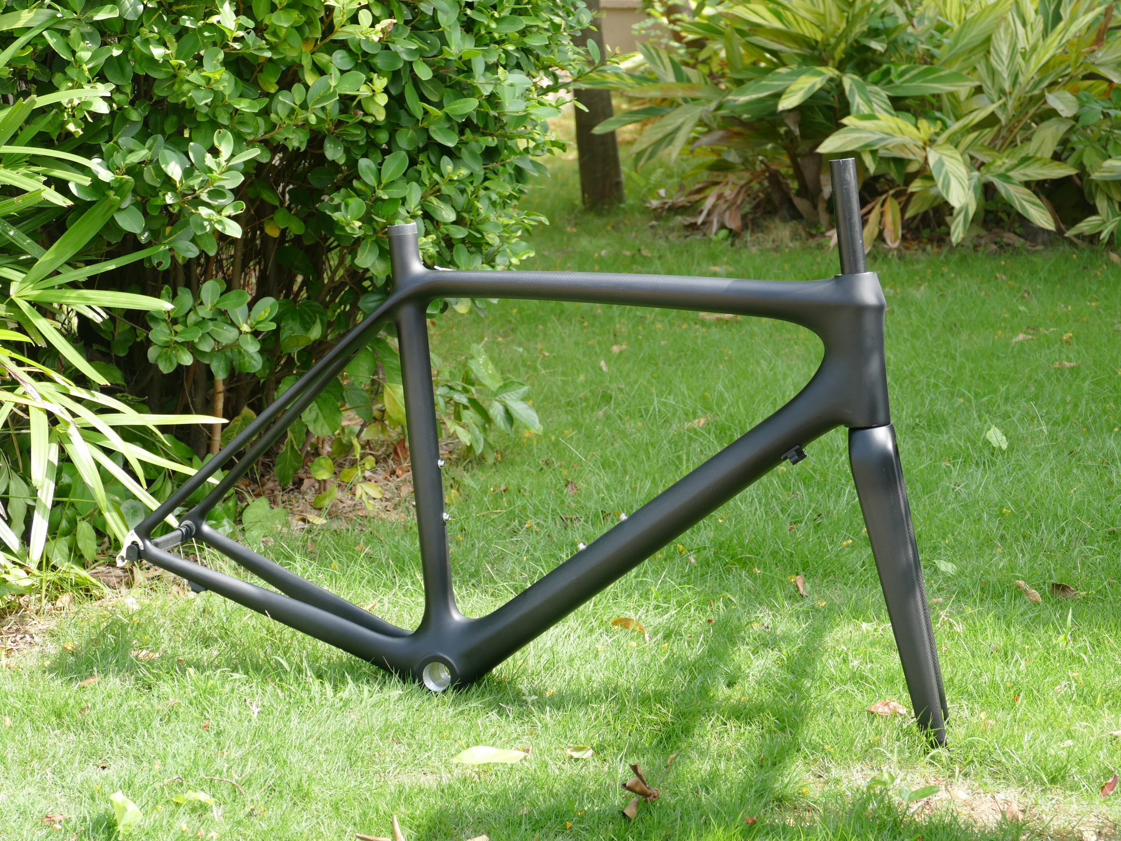 Road-Bike-Frame Fork Carbon Toray 54cm FLX-FR-301 Brand-New title=