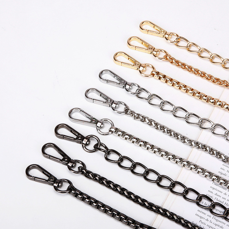 High Quality Bag Chain Strap Belt Hardware Shoulder Handbag Metal Replacement Bag Part DIY Strap Accessories For Women Chain Bag