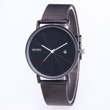 2019 Top Fashion Hot Sale Fngeen & Casual Buckle No Waterproof Alloy Round Package Glass