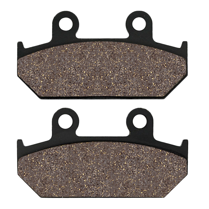 Cyleto Motorcycle Rear Brake Pads for <font><b>Suzuki</b></font> AN250 AN 250 Skywave 2007 2008 AN400 AN 400 <font><b>Burgman</b></font> <font><b>AN650</b></font> Skywave AN 650 200-2016 image