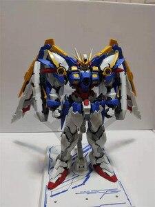 Image 4 - COMIC CLUB instock MJH mojianghun hirm style version wing gundam zero ew KA MG 1/100 action assembly figure robot toy