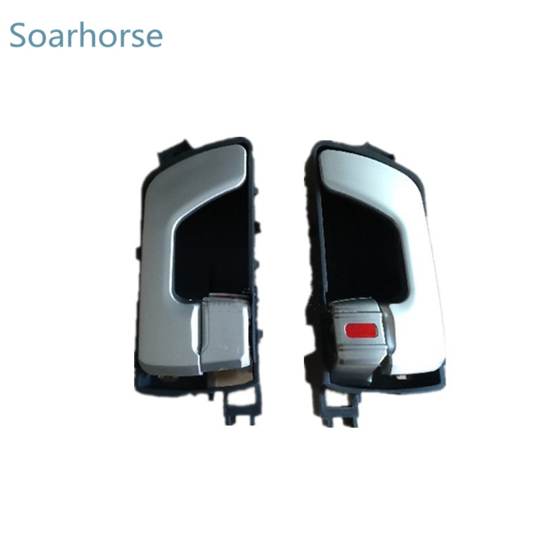 One Pair Inside <font><b>Door</b></font> <font><b>Handle</b></font> inner <font><b>door</b></font> <font><b>handle</b></font> For <font><b>Mitsubishi</b></font> Pajero Montero Shogun MK3 V73 V75 V73 image
