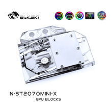 2060 Super Radiator-Block RTX2070 Bykski ZOTAC 8GD6 Blower/Cover Copper OC/RTX Use-For