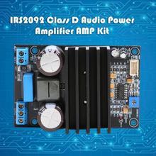 IRS2092 Высокая мощность 200 Вт 20A моно усилитель плата модуль класса D аудио цифровой усилитель мощности видео Операционная микросхема