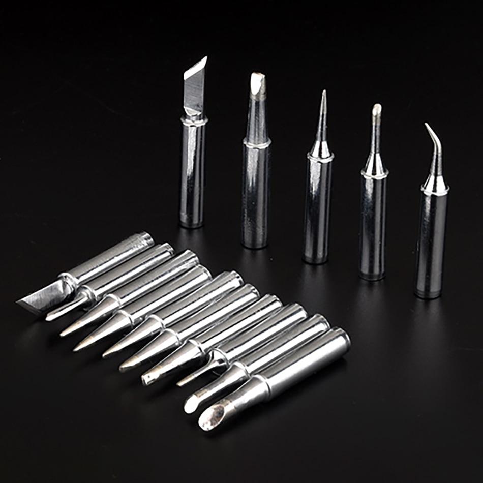 15pcs 900m-t Soldering Tip Lead-Free Welding Tool Head Bit 936 Soldering Iron Tip For Solder Station Soldering Iron Tips