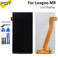 100% testado 640*1280 para leagoo m9 display lcd tela peças de reparo para leagoo m9 lcd pantalla com ferramentas|LCDs de celular| |  -