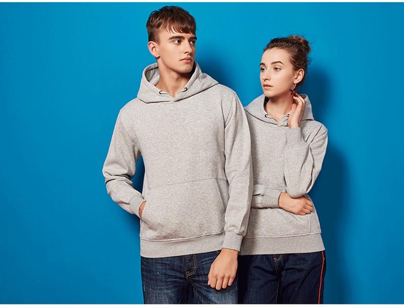 Fashion Brand Men's Hoodie 2019 Spring And Autumn Men's Casual Hoodie Sweatshirt Men's Solid Color Hoodie Sweatshirt Shirt