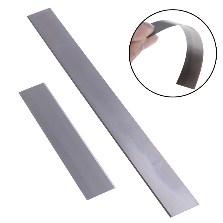 "2pcs 4""/8"" DIY Stainless Steel Clay Cutter Blades Polymer Clay Slicing Cutting Tools Art Sculpting Flexible Cutter Blades"