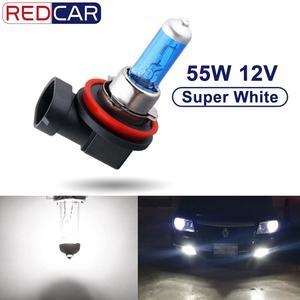 Image 1 - 1 Cái 12V 55W H8 Bóng Đèn H9 H11 LED HEADLIGHT Siêu Trắng 6000K Đèn Tự Động Xe Ô Tô đèn Pha Đèn Bãi Đỗ Xe