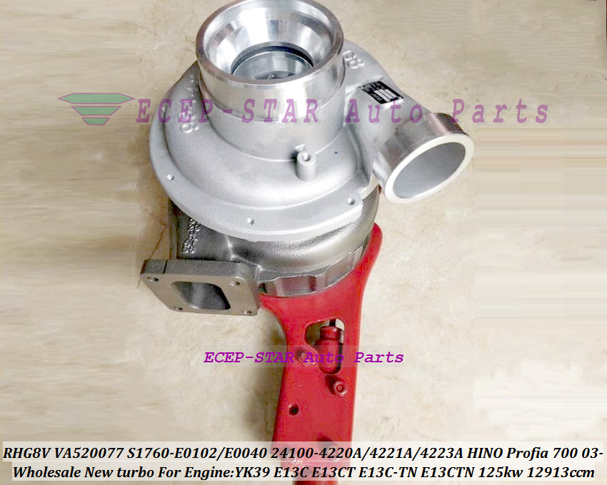 Turbo VE520040 24100-4223B 24100-4223C 24100-4223D 24100-4223D S1760-E0100 S1760-E0101 S1760-E0100-A 24100-4223A E13C-TN E13CT