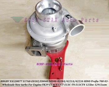 Turbo VE520040 24100-4223B 24100-4223C 24100-4223D 24100-4223D S1760-E0100 S1760-E0101 S1760-E0100-A 24100-4223A E13C-TN E13CT