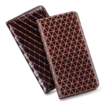 Genuine Leather Magnetic Holster Cover For Asus ZenFone 6Z ZS630KL/Asus ZenFone 5Z ZS620KL Mobile Phone Case Cards Holder Coque