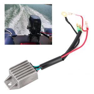 Стабилизатор напряжения, выпрямитель для 2-тактного 15HP подвесного мотора, рыболовные моторы лодок, стабилизатор напряжения из серебристого...