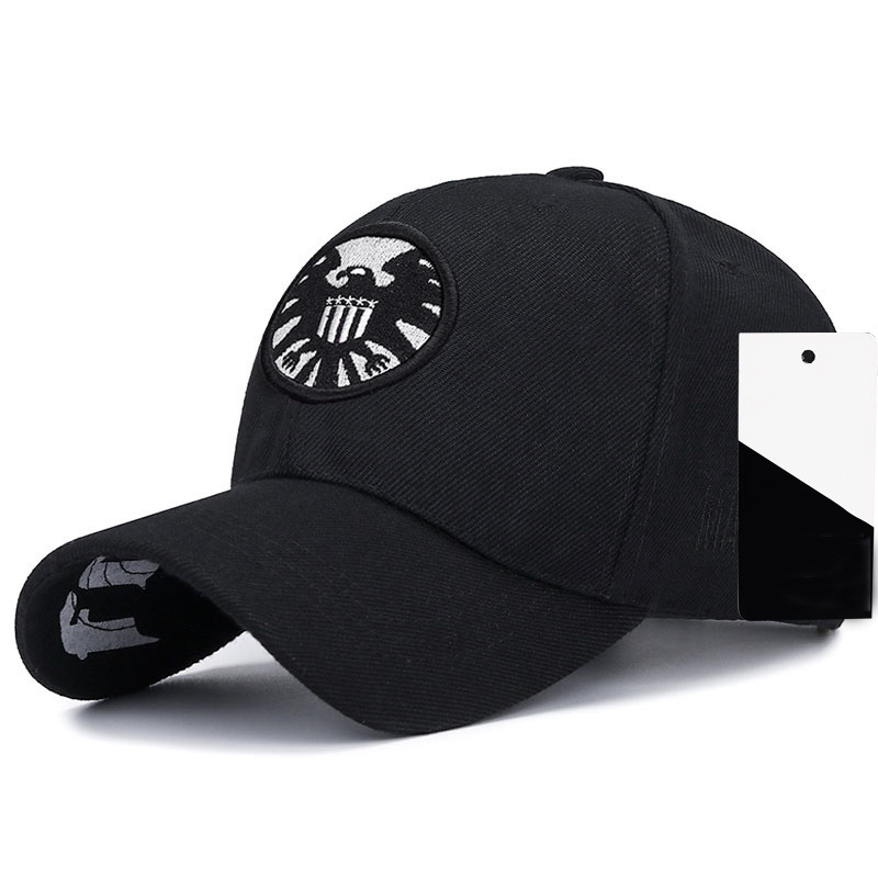 New Aegis Agent Embroidered Baseball Cap Fashion Hip Hop Caps Men's And Women's Universal Hat Outdoor Leisure Sports Hats