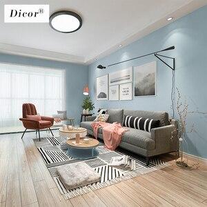 Image 4 - 5M Macaron düz renk PVC su geçirmez kendinden yapışkanlı duvar kağıdı oturma odası çocuk yatak odası dekoru vinil yapışkan kağıt mutfak dolabı