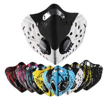Sport Dust Filter Cycling Face Mask Half Protective Cool Pollution Bike Shield Neoprene Smog Pm 2.5 Training