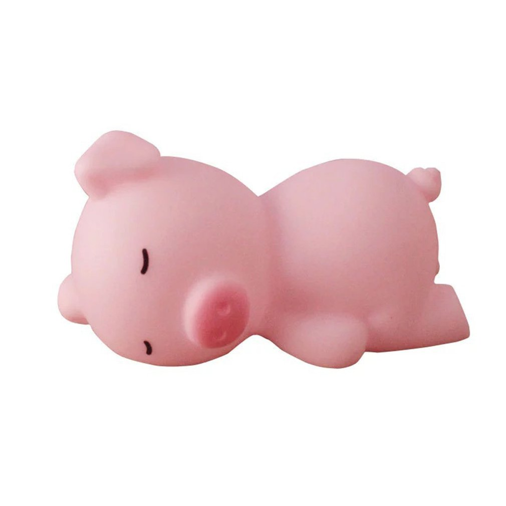 Pink Sleeping Pig Squeezing Child Creative Spoof Venting Squeezing Student Toy