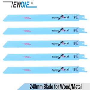 NEWONE 225mm BIM Jig Saw Blades Reciprocating Saw Multi For Wood Metal Reciprocating Saw Power Tools Accessories