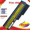 HSW 6cell 5200mah batterie Für Lenovo 3000 B460 B550 G550 G555 G430 L08L6Y02 G430L N500