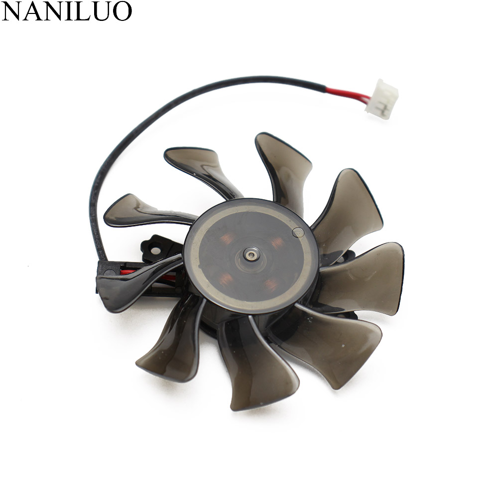 GA82O2M 75MM DC 12V 0.28AMP GTX650 <font><b>GTX650Ti</b></font> GTX750 GTX750Ti Fan For GALAX KFA2 GTX 650 650Ti 750 750Ti Graphics Card Cooler Fan image