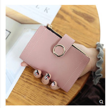 Womens wallet small fashion leather ladies and womens card package 2019 clutch bag wal