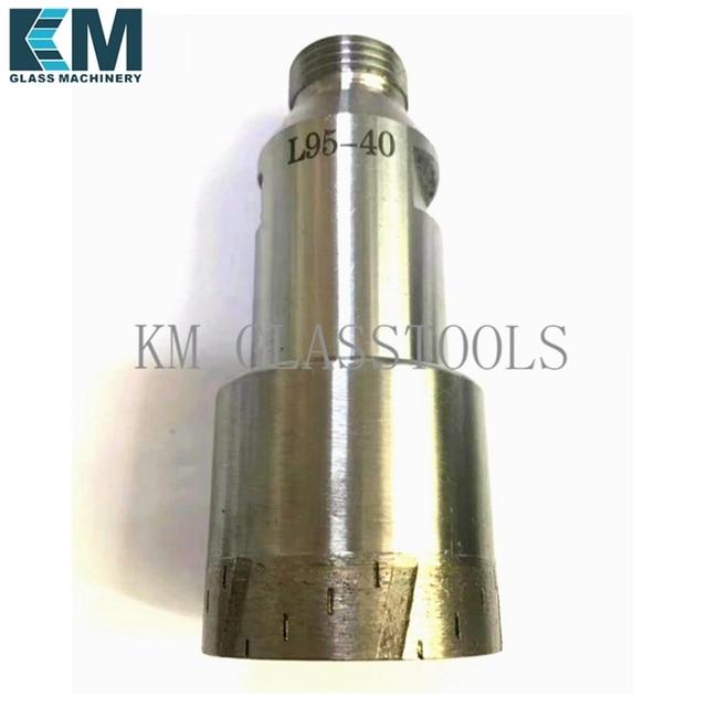 New drill!That can drill 15,000 holes, D5mm~120mm,Sintered Diamond core drill bit,Belgium thread Mount-YG 1/2.Glass drilling