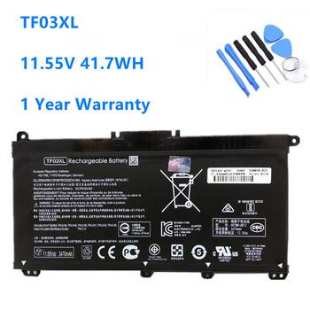 TF03XL bateria do HP Pavilion 15-CC 14-bf033TX 14-bf108TX 14-bf008TU HSTNN-UB7J TPN-Q188 TPN-Q189 TPN-Q190 Q191 TF03 tanie i dobre opinie AYANJIN CN (pochodzenie) Li-ion 3 Komórki 11 55V 41 7WH