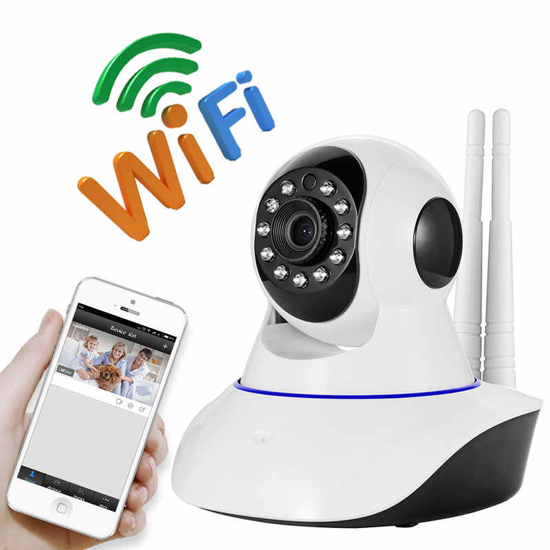 2MP HD 1080P PTZ WIFI IP Kamera Ir-potong Malam Visi Two Way Audio Pengawasan CCTV Smart Camera kartu SD Lihat Yoosee Aplikasi
