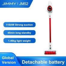 JIMMY – aspirateur à main sans fil JM52, filtre Cyclone, collecteur de poussière, aspiration 115AW, balayage de tapis, Clean Lim