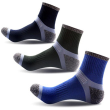 Sport-Socks Calcetines Hiking Running Cycling Ciclismo Fitness Cotton Gym Men Climbing